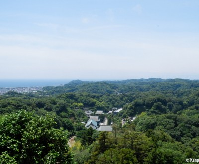 Tenen Hiking Trail, View on Kamakura