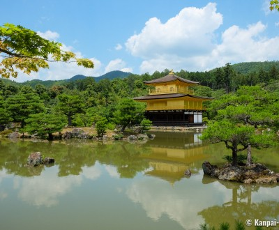 Kinkaku-ji, Kyoto during Coronavirus Outbreak in June 2020 (7)