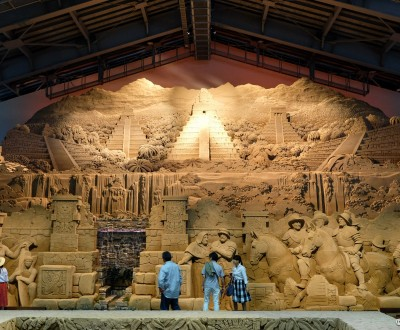 Tottori Sand Museum, South America (2016)