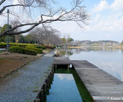 Mito (Ibaraki), Lake Senba and Park
