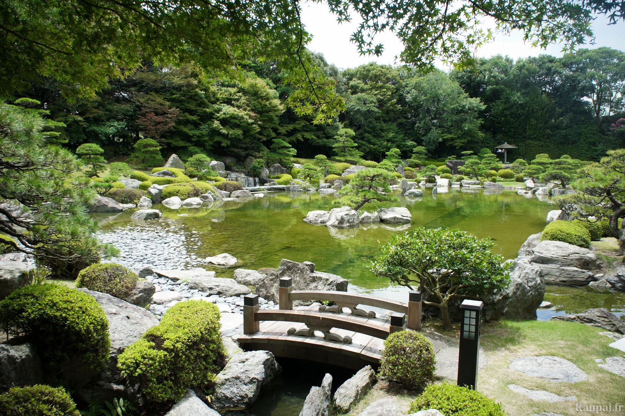 Japanese gardens parks for Jardin zen japonais