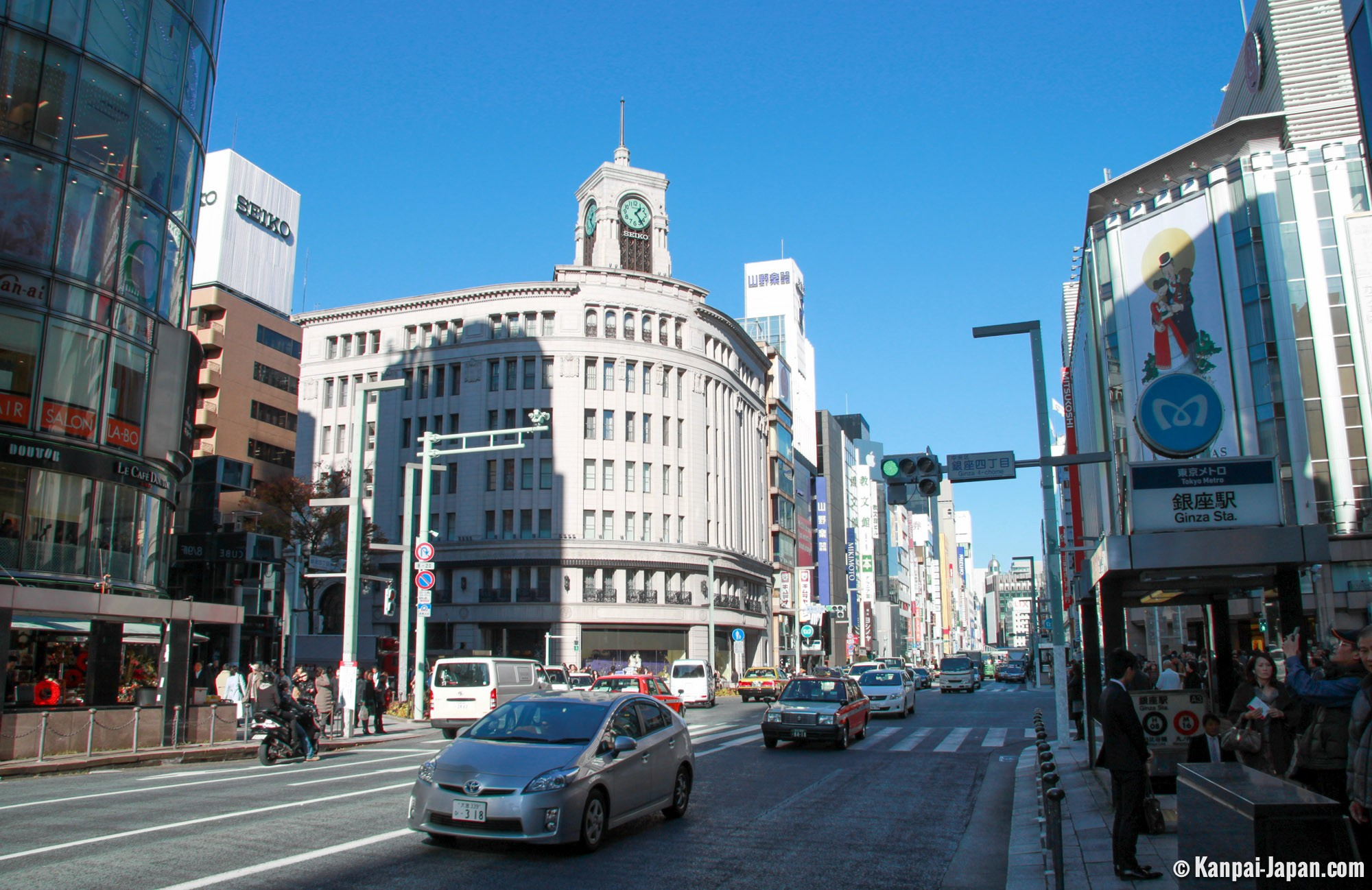Ginza Luxury Shopping In Tokyo