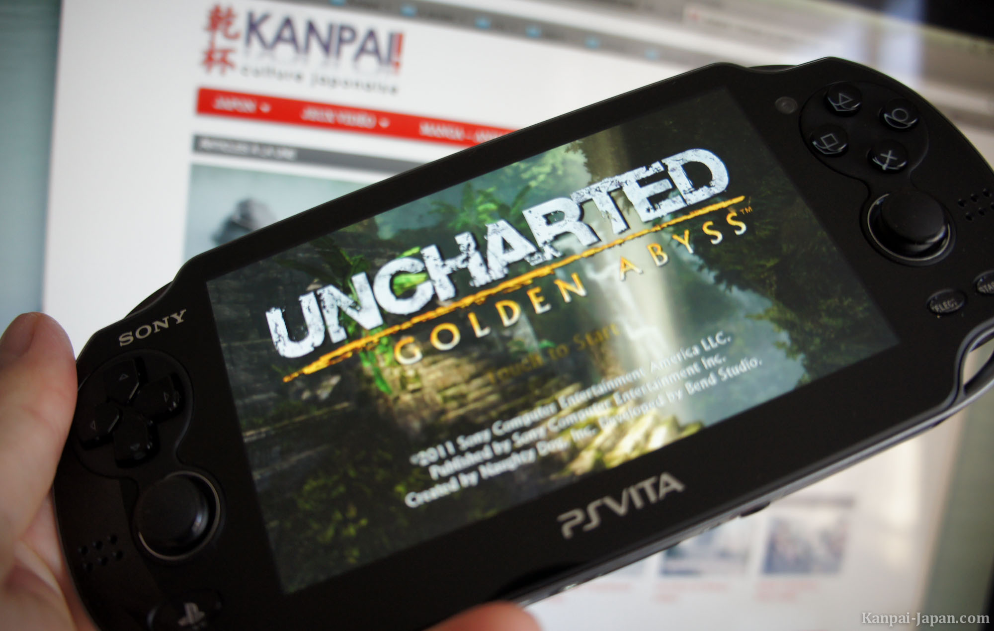 ps vita review with uncharted