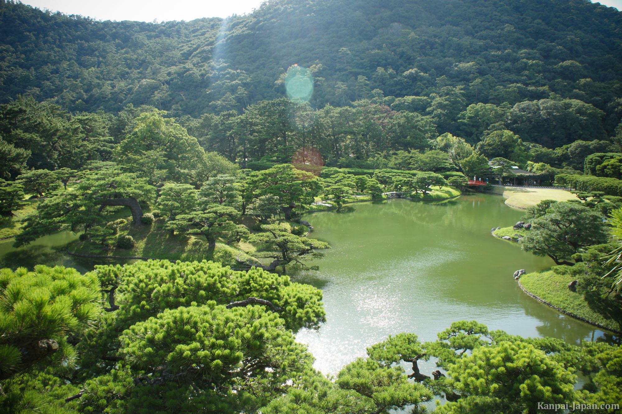 Takamatsu Japan  City new picture : Ritsurin The sublime Japanese Park in Takamatsu