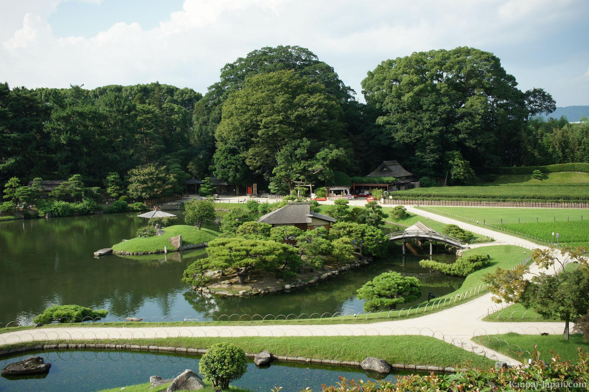 Okayama the city of momotaro for Jardin korakuen