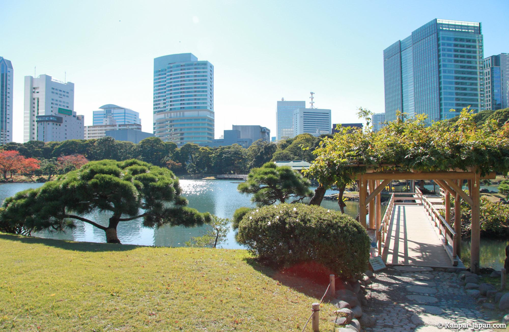 300 Garden Walk: The Japanese Garden Between Tokyo Buildings